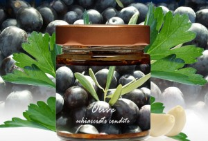 Olive Schiacciate Condite