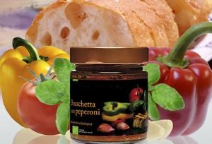 Bio Condimenti per Bruschetta con Peperoni