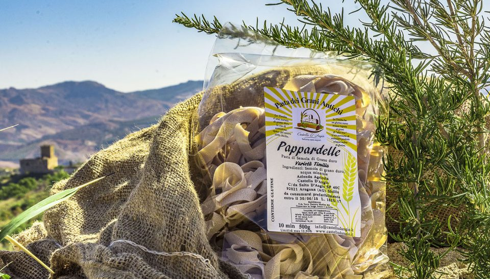 Pappardelle Italian Pasta from Sicilia